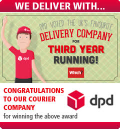 We Deliver With DPD - Named Best Parcel Delivery Company