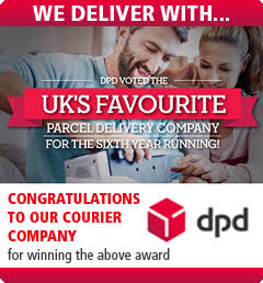 We Deliver With DPD - Named Favourite Parcel Delivery Company For Sixth Year Running